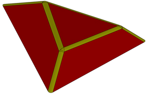 Cut of Triangle 1200